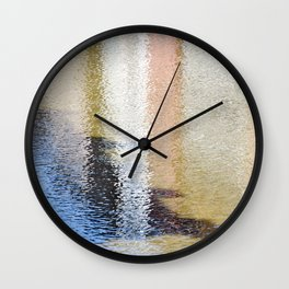 Light and Shadow Reflections (City Walks) Wall Clock