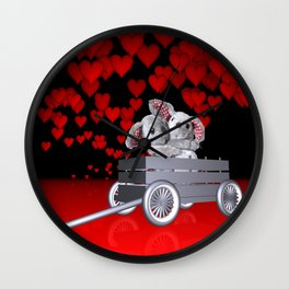 Love is in the air -1- Wall Clock
