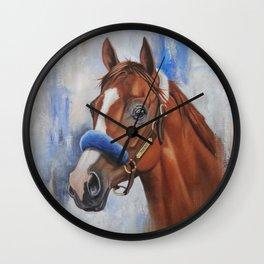 Justify Wall Clock