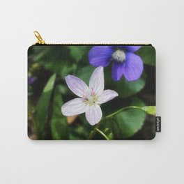 Spring Beauty 11 Carry-All Pouch