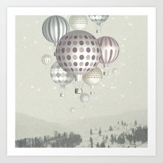 Winter Dreamflight Art Print