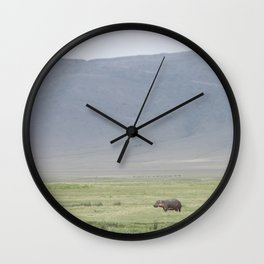 Hippo, please Wall Clock