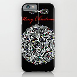 MERRY CHISTMAS iPhone Case
