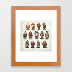 dwarves  Framed Art Print
