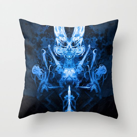Dimonyo Throw Pillow