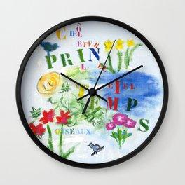 Soleil Wall Clock