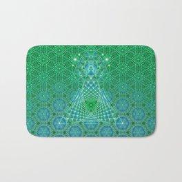 Lifeforms | Sacred geometry Bath Mat