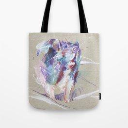 Purple rat Tote Bag