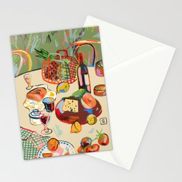 WINE BREAK Stationery Cards