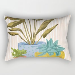 Little Garden || Rectangular Pillow