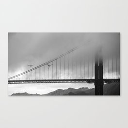 Gray Bay Canvas Print