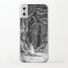 You are never alone Clear iPhone Case