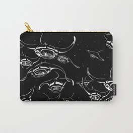 Manta Rays landing Carry-All Pouch