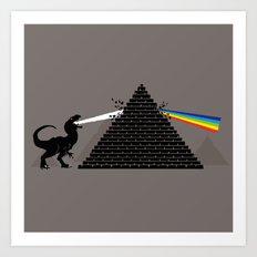 Pyramidism Art Print