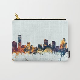 Grand Rapids Michigan Skyline Carry-All Pouch