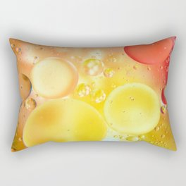 Oily bubbles Rectangular Pillow