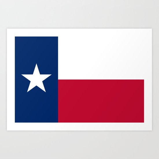 Vibrant image for texas flag printable