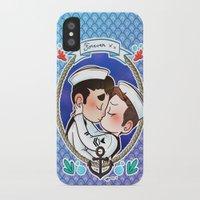 klaine iPhone & iPod Cases featuring Sailor by Sunshunes