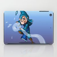 bender iPad Cases featuring Water Bender by MDDesigns
