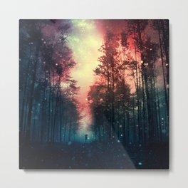 Magical Forest II Metal Print