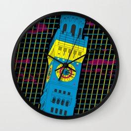 Bawlmer in CMYK Wall Clock