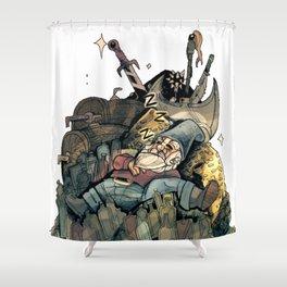Gnome Chomsky Shower Curtain