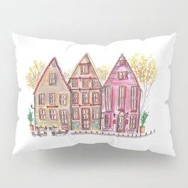 Coloured houses II Pillow Sham