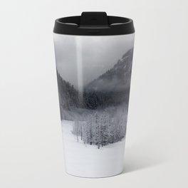 Snowy Morning Metal Travel Mug