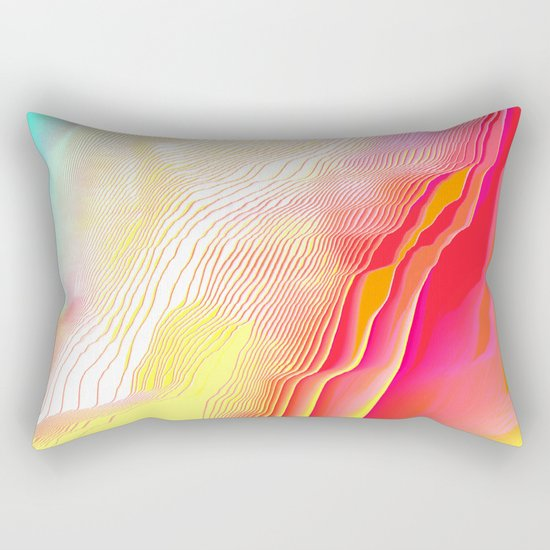 Pool Hallucination Rectangular Pillow