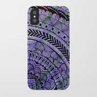 zentangle iPhone & iPod Cases featuring Zentangle by Doodle Frisson