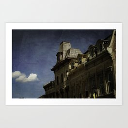 Gracefully Ornate Rooftops In Millbrook Art Print
