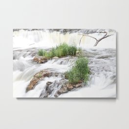 Waterfalls of Wisconsin, Willow River Metal Print