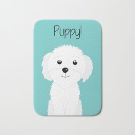 It is a puppy - National Puppy Day Bath Mat