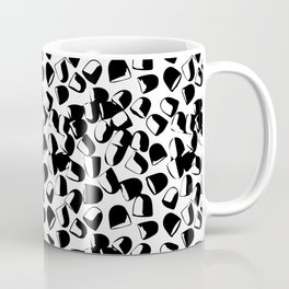 Morning Medicine in Black & White Coffee Mug