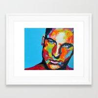 model Framed Art Prints featuring Model by Ilya Konyukhov
