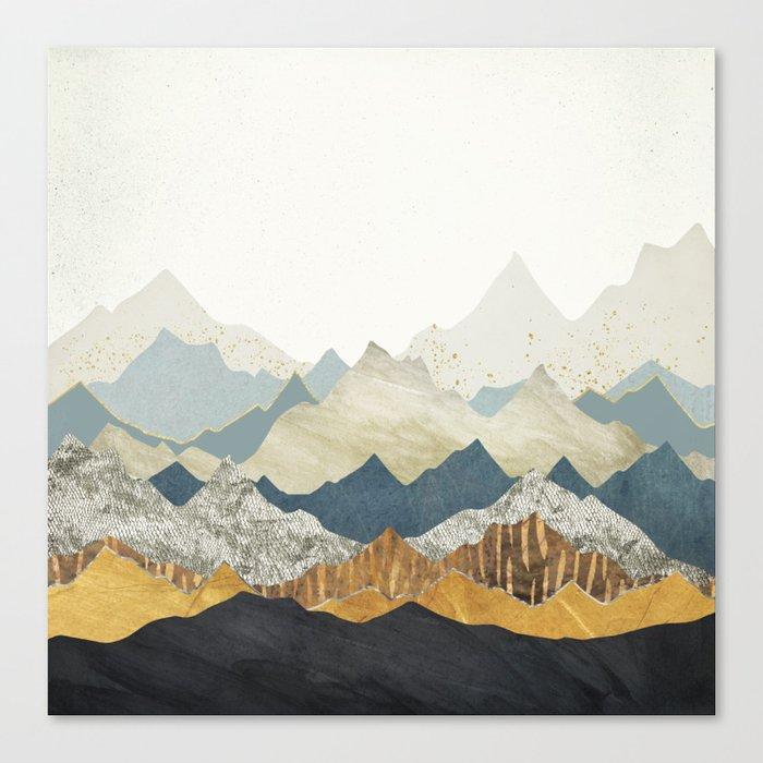 Distant Peaks Leinwanddruck