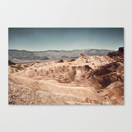 Desert Cliffs Canvas Print