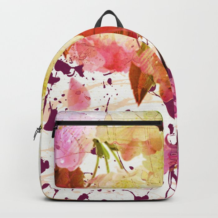 sweet spring floral Backpack