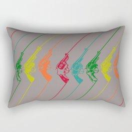 PentaGun Rectangular Pillow
