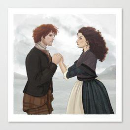 """Outlander """"The Frasers"""" Canvas Print"""