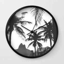 Posto 10 B&W Wall Clock