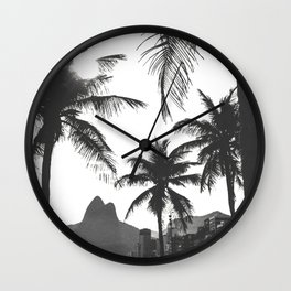 Posto 10 B&W Wall Clock