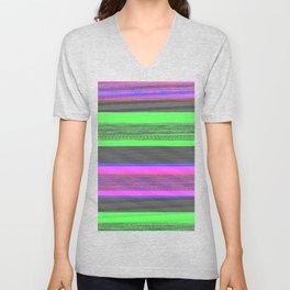 Audio Spectrum Test Tones Unisex V-Neck