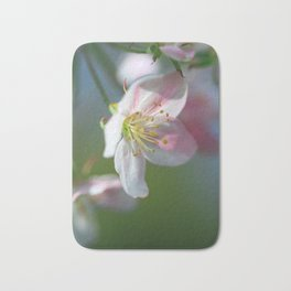 Apple Tree Blossoms In Spring Bath Mat