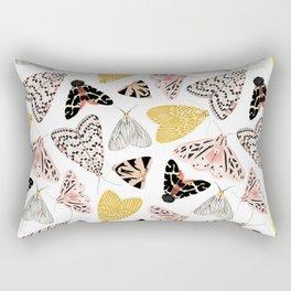 Moth's Diverse Beauty Pattern Rectangular Pillow