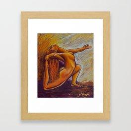 Añjanā  Framed Art Print