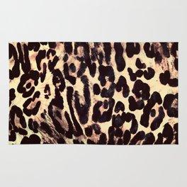 Leopard Print Rug