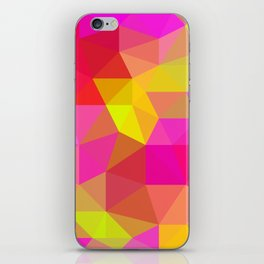 Citrus Candy Low Poly iPhone Skin