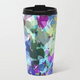 Blue Butterfly Garden Travel Mug