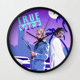 TRUE VICE Wall Clock